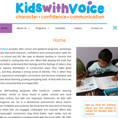 Kids with Voice